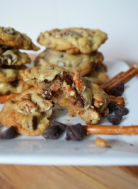Chocolate Chip Pretzel Cookies