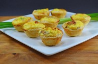 Mini Bacon and Cheese Quiches