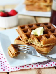 Overnight Blender Waffles