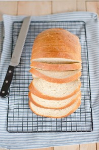 Buttermilk White Bread (Our favorite sandwich bread)