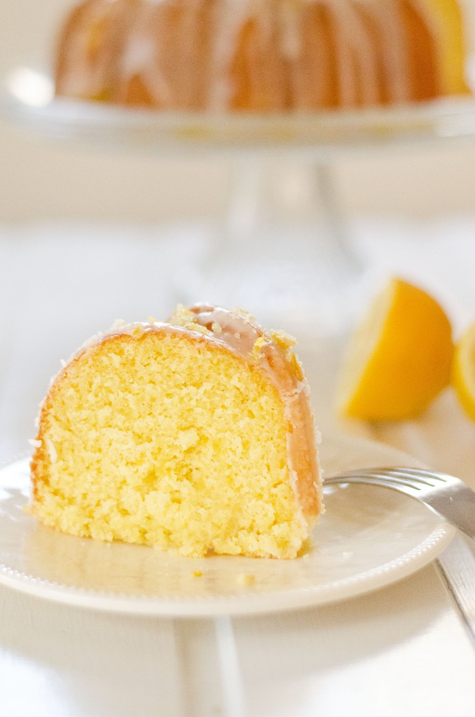 Super Moist Lemon Bundt Cake Recipe
