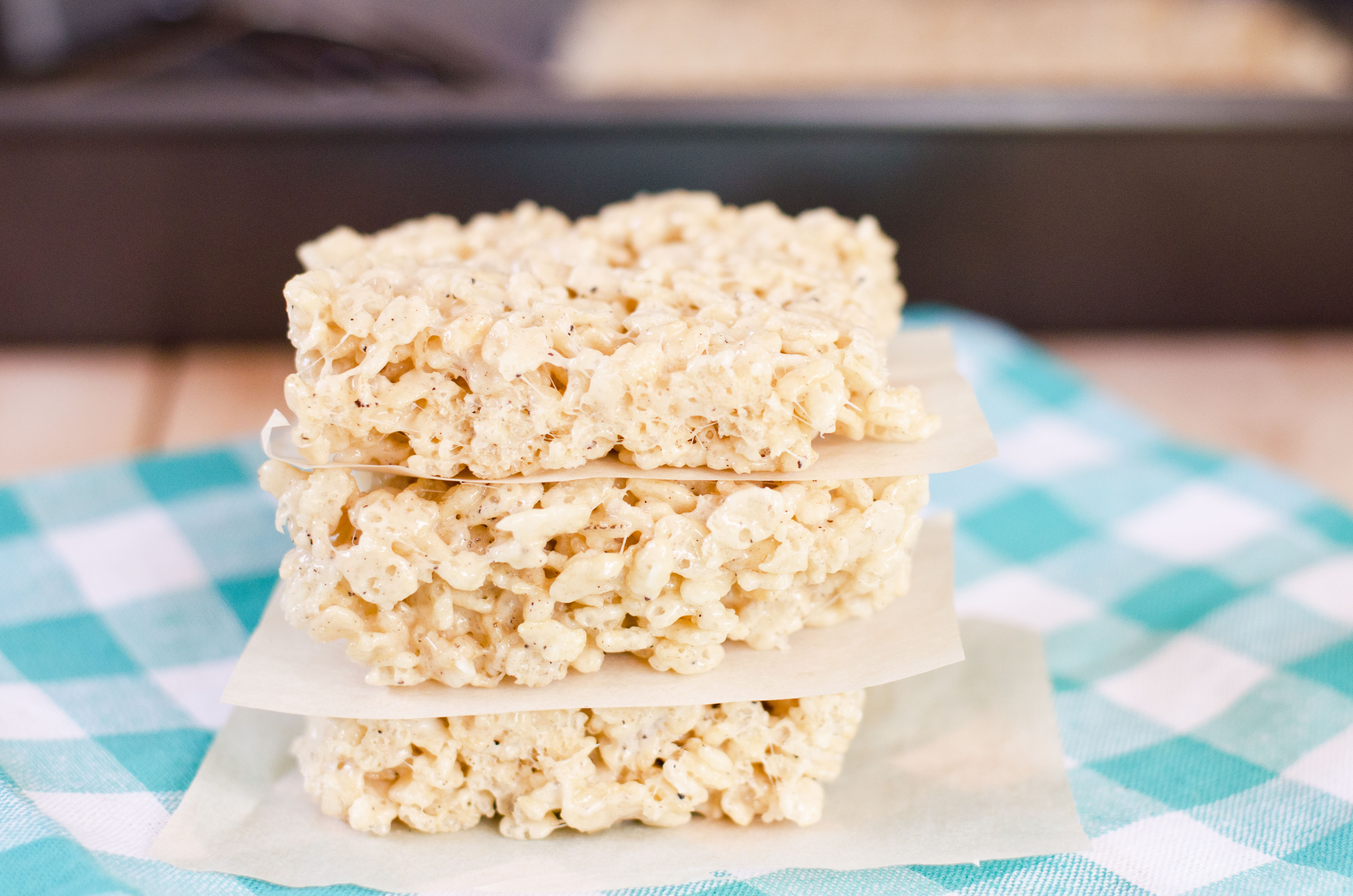 Salted Brown Butter Rice Krispie Treats | Amy Kay's Kitchen