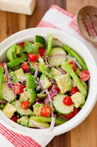 Summer Avocado and Tomato Salad