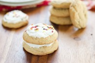 Maple Brown Sugar Cookies with optional Maple Icing