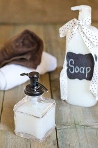 Creamy Homemade Body Wash and Hand Soap