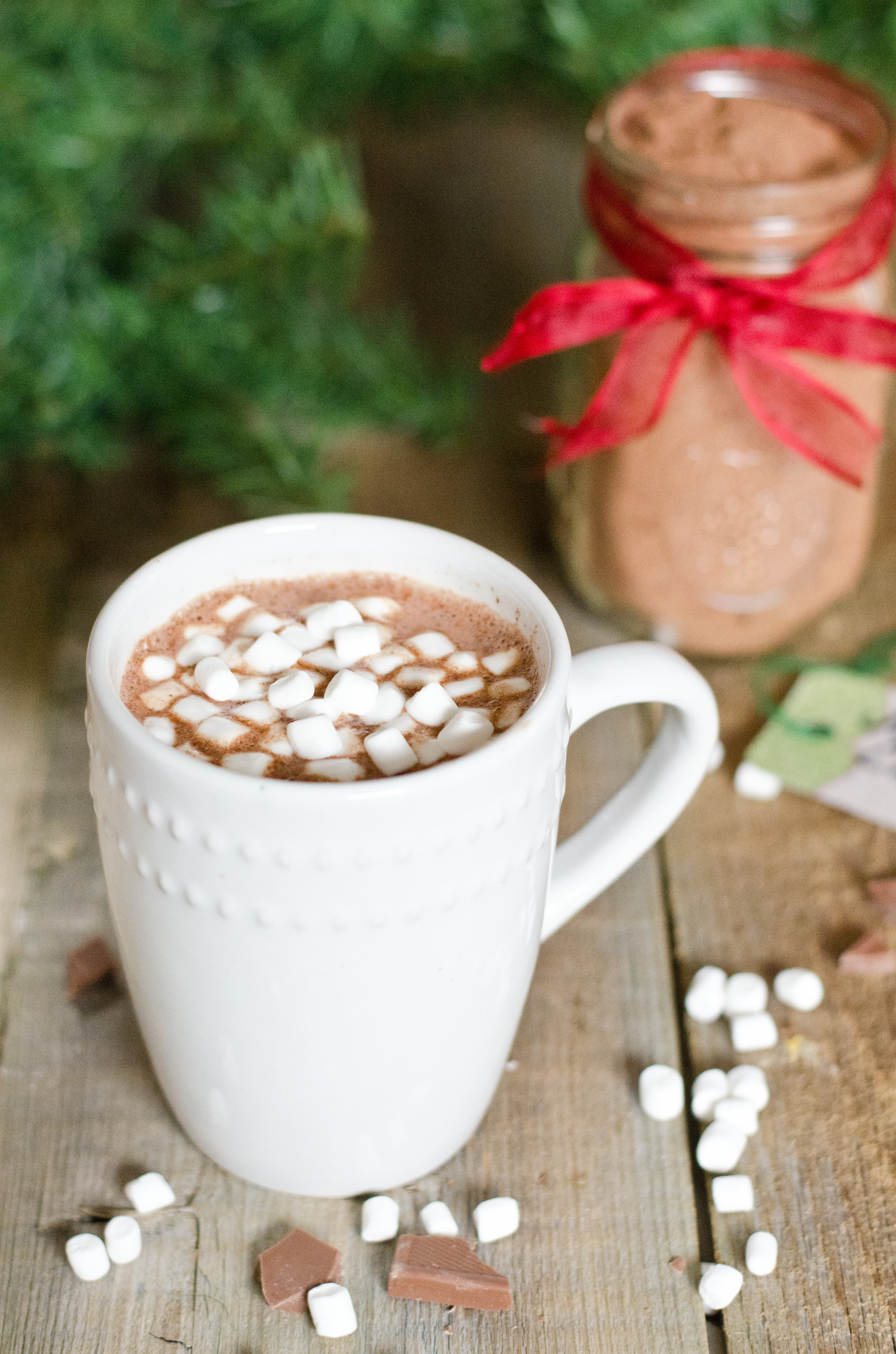 DIY Hot Chocolate Mix (without dry milk powder!) | Amy Kay's Kitchen